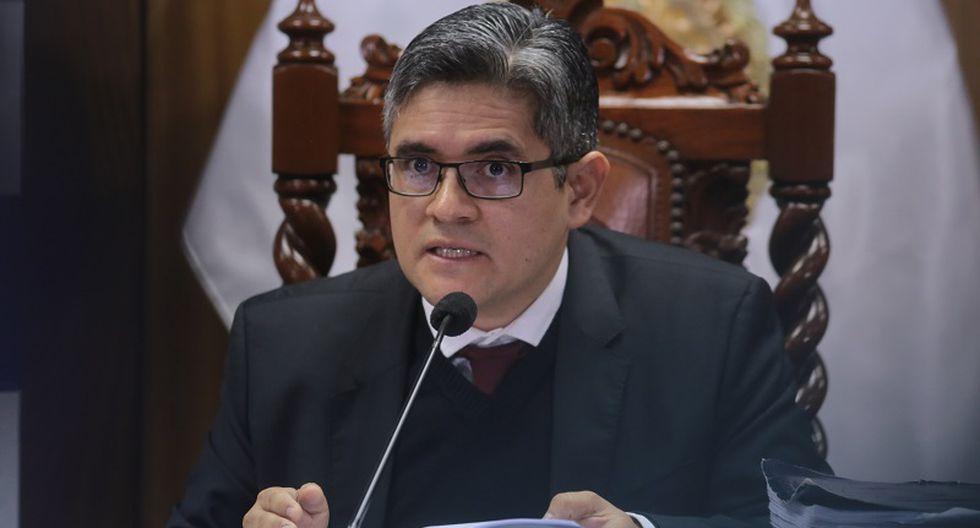 José Domingo Pérez aseguró que la defensa de Keiko Fujimori no puede usar el fallo del TC como argumento de defensa. (Foto: GEC)