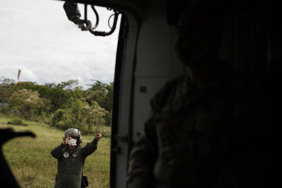 Las Fuerzas Armadas y la Policía combaten al narcoterrorismo que opera en el Vraem. Su tarea es destruir plantaciones de cultivos ilegales, enfrentarse a los senderistas que protegen el traslado de drogas, inhabilitar pistas clandestinas de aterrizaje y más. (Foto: César Campos)
