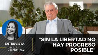 """Mario Vargas Llosa: """"Sin la libertad no hay progreso posible"""""""