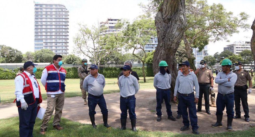 Sunafil dispuso que un grupo de trabajadores del club Golf de San Isidro regrese a sus casas. (Twitter)