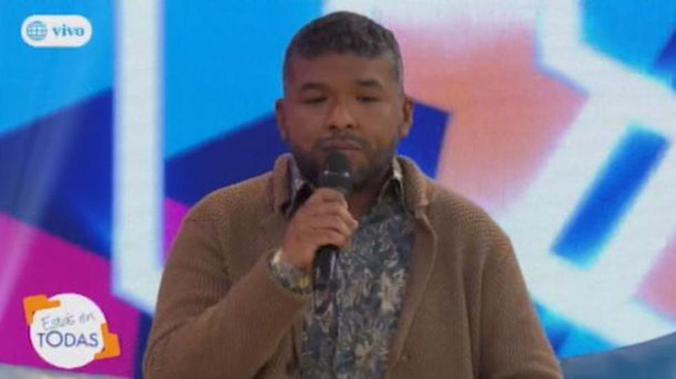 Conductor lamentó en vivo la conducta de su compañero en el programa 'Estás en Todas'. (Captura)
