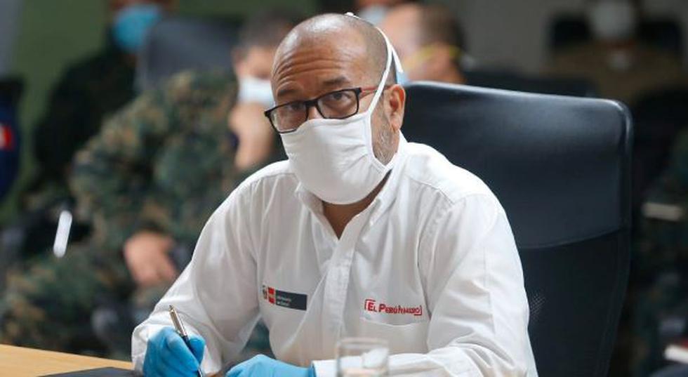 Víctor Zamora, ministro de Salud, se refirió a los profesionales de su sector. (Fotos: Minsa)