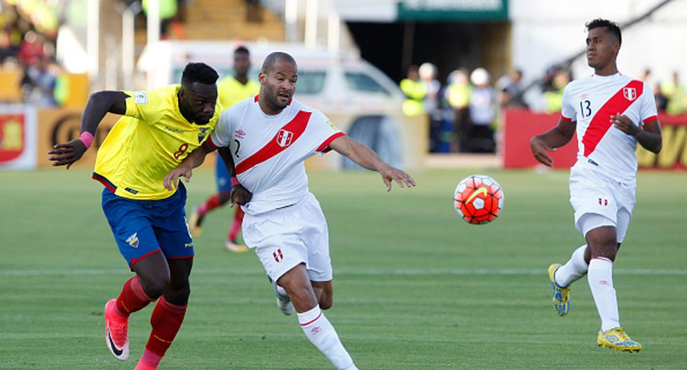 Con Rodríguez en la zaga, Perú debutará por el Mundial Rusia 2018 ante Dinamarca,  este sábado en Saransk. (GETTY IMAGES)