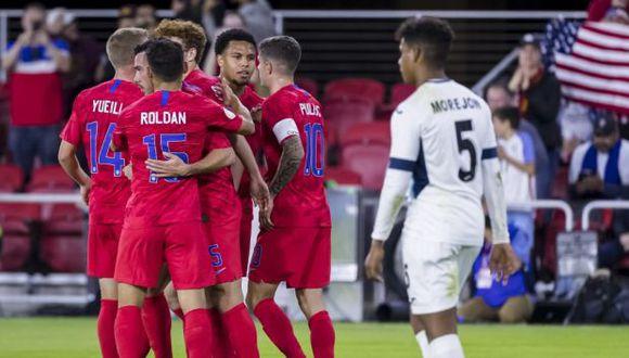 Estados Unidos recibe a Canadá por la Liga de Naciones Concacaf. (Foto: AFP)
