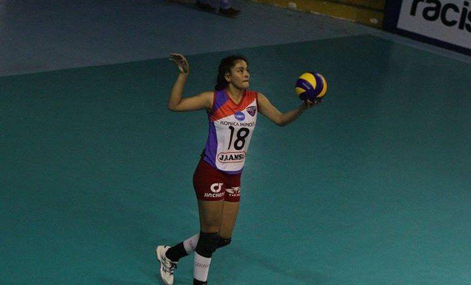 Alessandra Chocano fue campeona sudamericana con la selección infantil en 2014 y 2015. (Facebook Alessandra Chocano)
