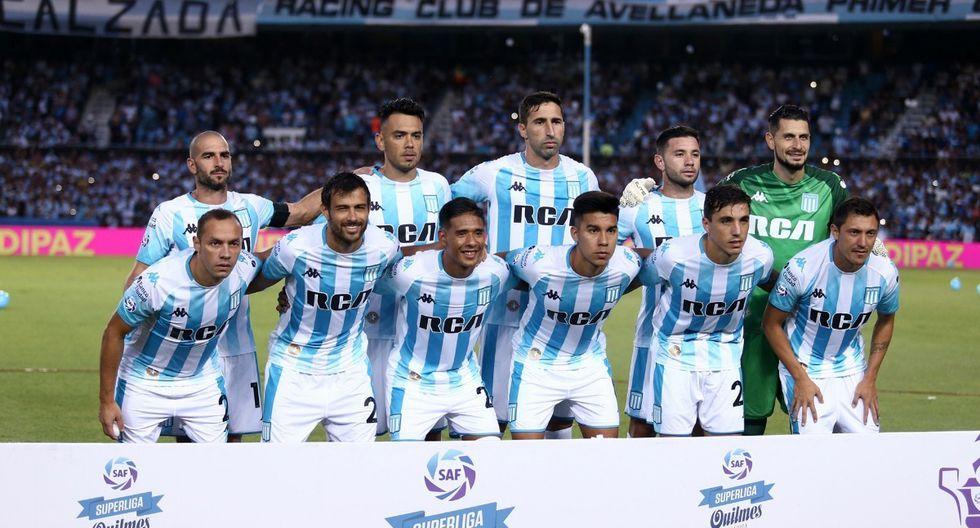 El vigente campeón argentino Racing Club está en el grupo F