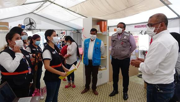 Tumbes: inauguran centro de salud mental comunitario por la pandemia del COVID-19 (Foto: Municipalidad Provincial de Tumbes)