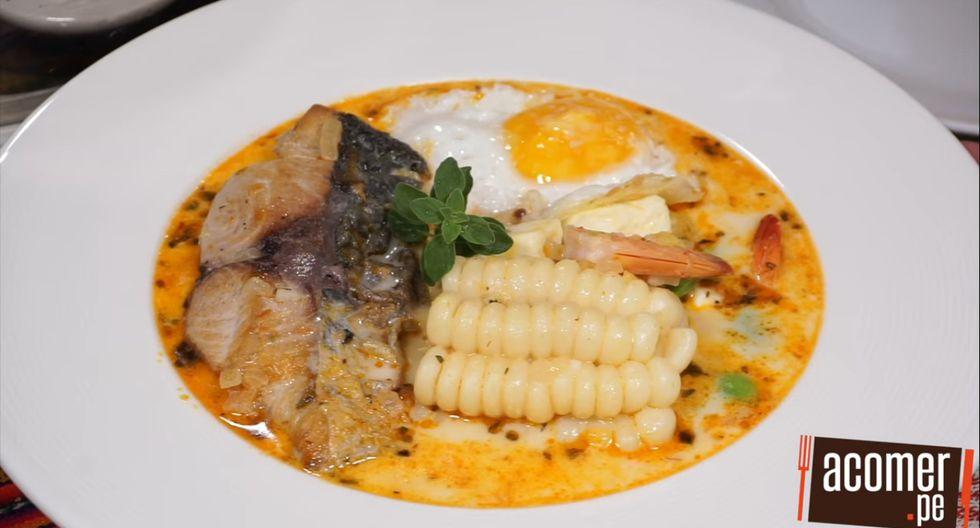 Para coronar la preparación, coloca un huevo frito encima. Quedará delicioso. (Foto: Acomer.pe)