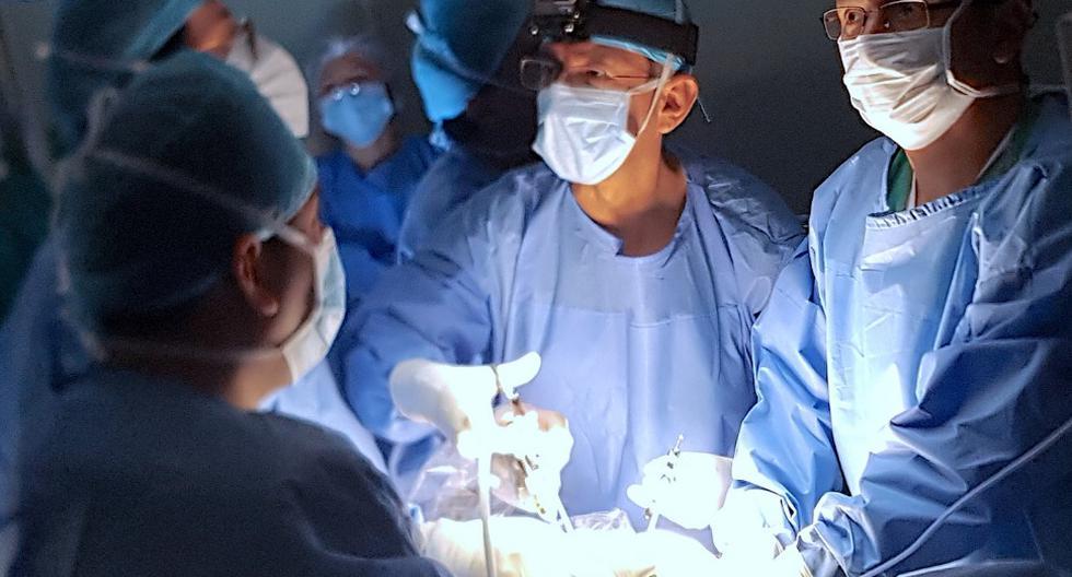 Ex maternidad realizó primera cirugía fetal de espina bífida sin corte a un bebé. (Foto: INMP)