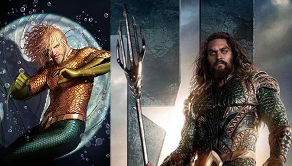 'Aquaman': El superhéroe que se adaptó al actor que lo interpreta (DC Comics)