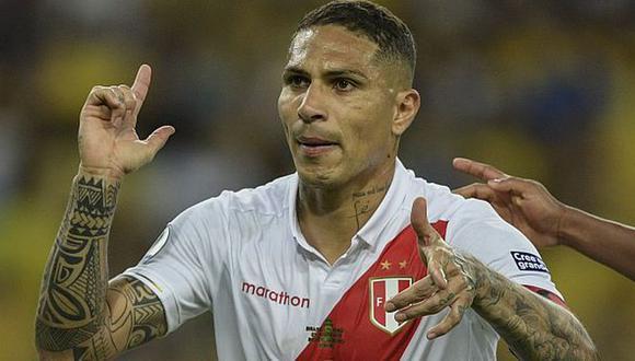 Guerrero, goleador histórico de la bicolor, arribó a Brasil en julio de 2012. (Foto: AFP)