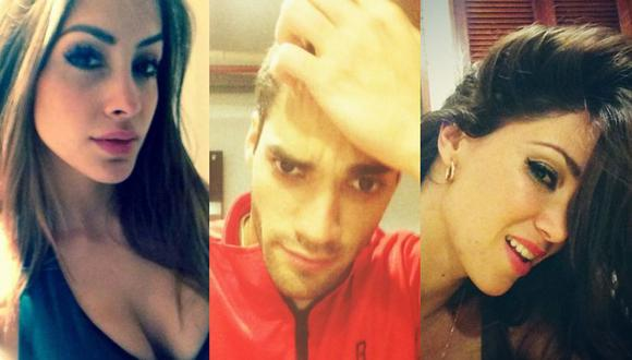 """Melissa Loza recuerda infidelidad de Guty Carrera y él responde: """"Y vuelve la mula al trigo"""" (Foto: Milett Figueroa, Guty Carrera y Melissa Loza / Facebook y Twitter)"""