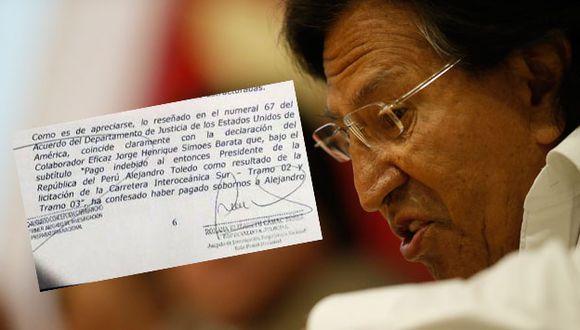 Alejandro Toledo, ex presidente del Perú. (Mario Zapata / Composición)