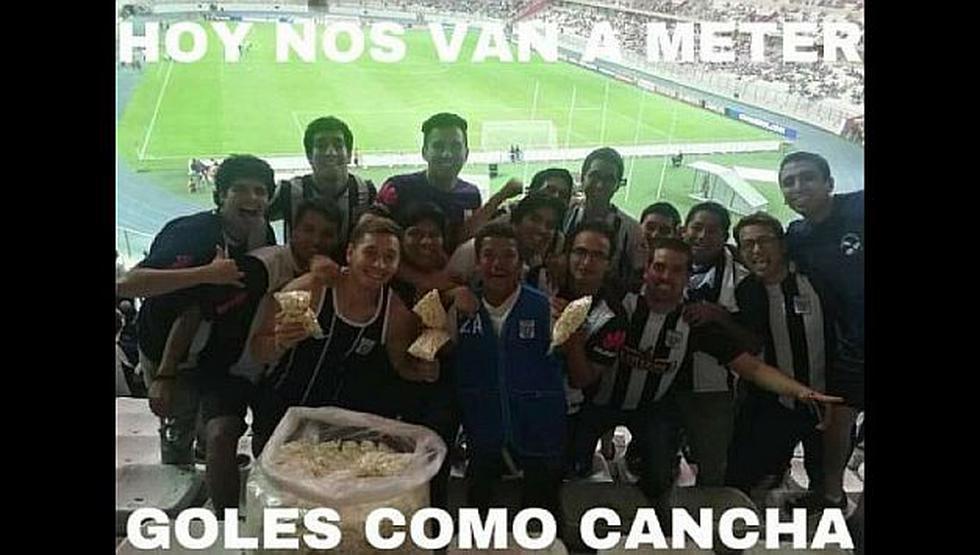 Los memes no se hicieron esperar tras la derrota de los blanquiazuales frente a Boca Juniors. (Facebook)