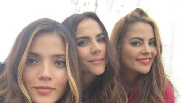 Jennifer Arenas, Carmen Villalobos y Stefanía Gómez (Foto: Instagram)