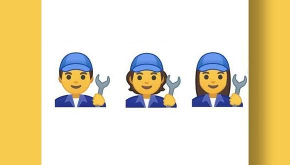 Los nuevos 53 emojis se presentan sin un género definido. (Foto: Google)