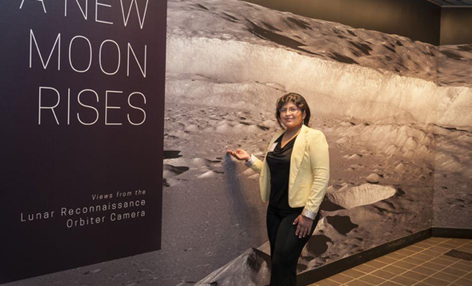 Aracely Quispe, la peruana que llegó a la NASA.