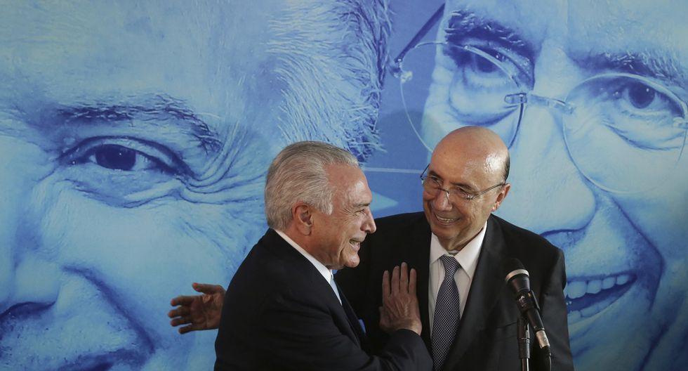Ex banquero Henrique Meirelles será el candidato del partido del actual presidente brasileño, Michel Temer. (Foto: AP)