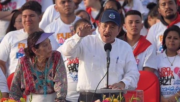 Daniel Ortega descartó adelanto de elecciones en Nicaragua y confirmó que se queda hasta 2021 (Foto: AFP)
