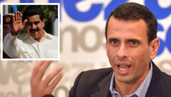 Henrique Capriles dice que al chavismo se le nota el miedo por haber perdido al pueblo. (AFP/AP)