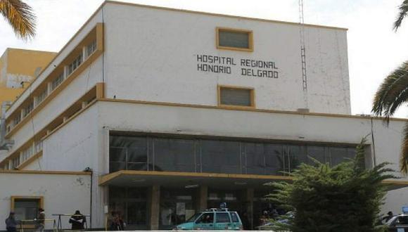 Hospital Honorio Delgado de Arequipa. (DIFUSIÓN)