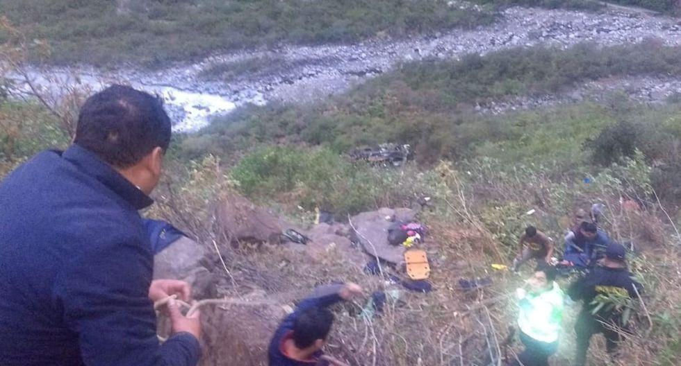 Accidente ocurrió a la altura del kilómetro 148 de la vía Interoceánica, en el distrito de Marcapata, provincia de Quispicanchi. (Foto: Facebook ABC Quispicanchi)