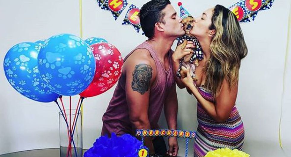 Fotos de Karla Tarazona y Christian Dominguez (Instagram)