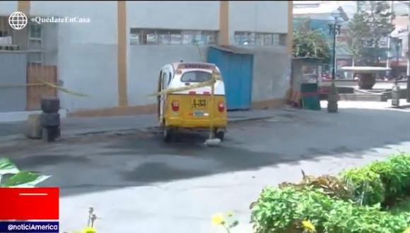 Hospital aseguró que la mujer llegó sin signos vitales. (Captura)