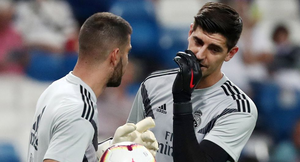 Thibaut Courtois llegó al Real Madrid tras disputar el Mundial Rusia 2018. (Reuters)