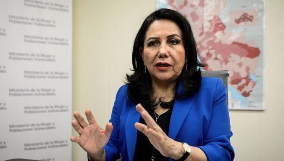"""Ministra de la Mujer: """"De 160 feminicidios este año, solo hay un sentenciado"""". (Foto: GEC)"""