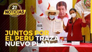 Juntos por el Perú traza nuevo plan para Pedro Castillo