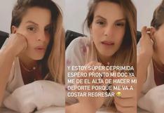 """Alejandra Baigorria: """"Tengo problemas de tiroides y musculación. Estoy fregada"""""""