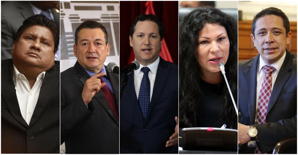 Fujimoristas renuncian a bancada de forma consecutiva.