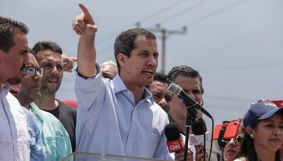 Juan Guaidó señaló que la oposición se mantendrá protestando en las calles contra Maduro. (Foto: EFE)
