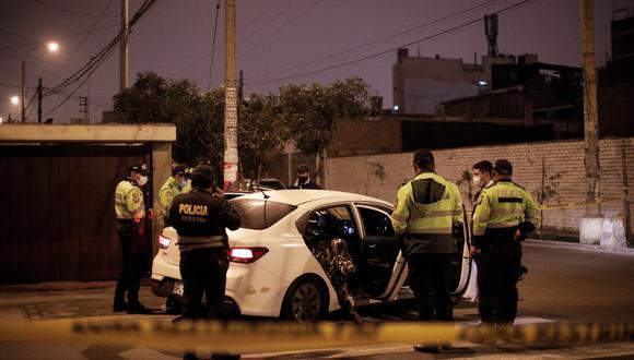 Se conoció que los pasajeros regresaban del aeropuerto Jorge Chavez cuando fueron interceptados. Foto: Joel Alonzo/@photo.gec
