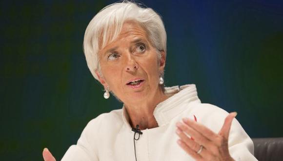 Lagarde se reunió en México con ministros de Finanzas del G20. (Reuters)