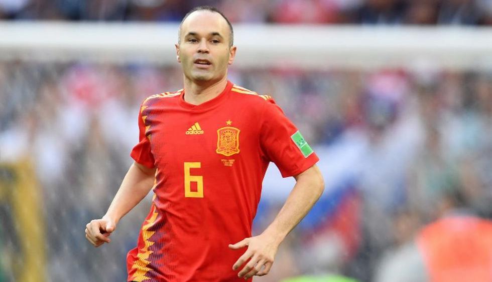 Andrés Iniesta aseguró que no fue una decisión fácil de tomar. (AFP)