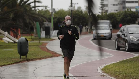 EsSalud pide rigurosidad en cuidados anti COVID-19 cuando salgas a hacer ejercicios (Foto: Leandro Britto/Gec)