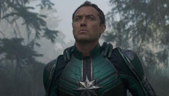 Captain Marvel: ¿quién es Yon-Rogg? La historia del comandante kree de Marvel Comics que interpreta Jude Law (Foto: Marvel Studios)