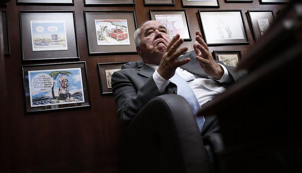Extraños habrían ingresado a oficina de Víctor Andrés García Belaunde. (César Fajardo)