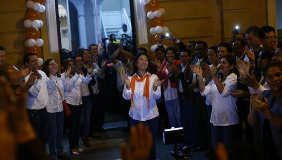 Fuerza Popular presentó subsanación a observaciones del JEE de Lima Centro 1 para inscripción de plancha presidencial. (Foto: GEC)