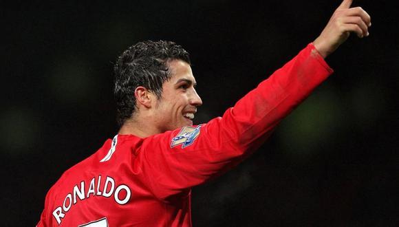 Cristiano Ronaldo ganó su primera Champions League con la camiseta del Manchester United allá por 2008. (Foto: AFP)