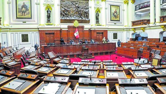 Con prisa. Pleno del Congreso aprobó cuarta legislatura para revisar reformas pendientes. (Foto: GEC)