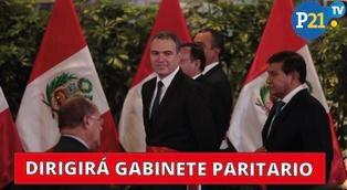 Salvador del Solar dirigirá gabinete paritario