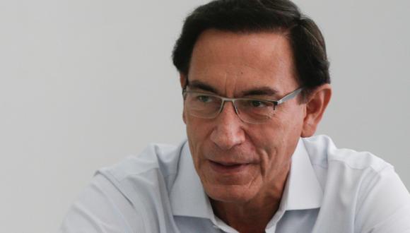 Martín Vizcarra indicó que recurrirá a la vía judicial para ver inhabilitación. (Foto: Archivo de GEC)