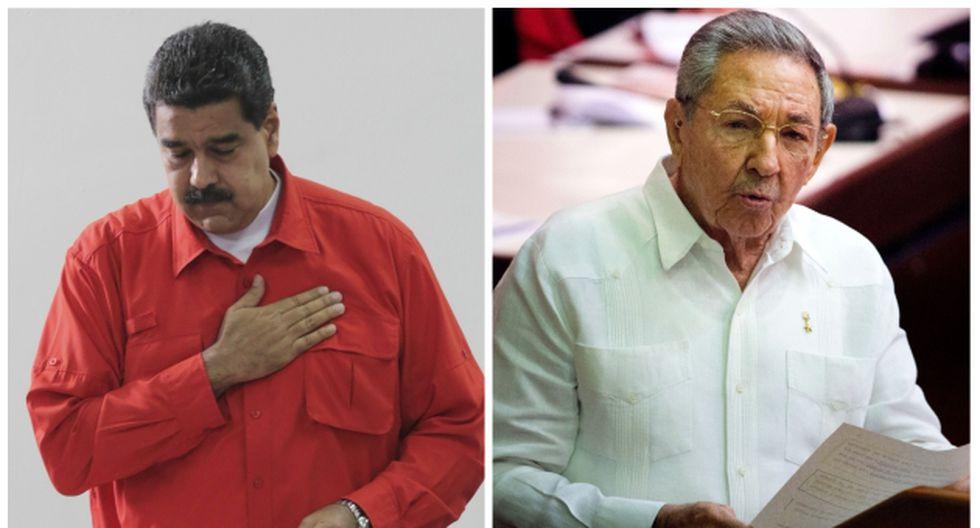 Polémica en Chile por invitación a Nicolás Maduro y Raúl Castro a Chile (AP/AFP).