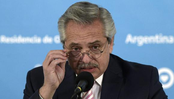 Alberto Fernández quiso citar a Octavio Paz pero usa frase de rockero Litto Nebbia (AFP)