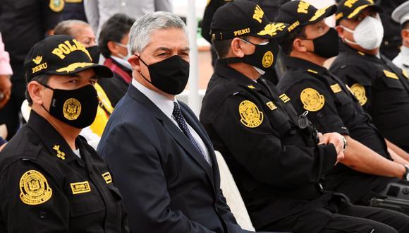José Elice aseguró que asume la responsabilidad política como ministro del Interior del accionar de la PNP. (Foto: @MininterPeru)
