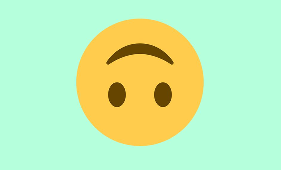 ¿Te has dado cuenta del emoji con la carita al revés? Entérate qué es lo que realmente quiere decir en las conversaciones de WhatsApp. (Foto: Emojipedia)