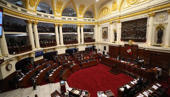 Más de tres horas duró el debate del proyecto de ley Mordaza que prohíbe la publicidad estatal en medios privados. (Geraldo Caso / Perú21)